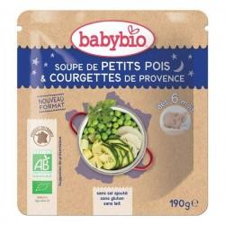 DOYPACK PETITS POIS COURGETTE 190G