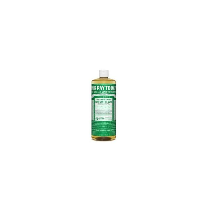 SAVON CASTILLE AMANDE BRONNERS 140GR | DR BRONNERS - SAVONS