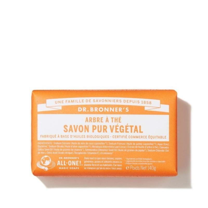 SAVON CASTILLE TEA TREE BRONNERS 140GR | DR BRONNERS - SAVONS