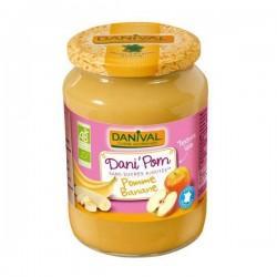 DANIPOM POMME BANANE 700G | DANIVAL - PUREES DE FRUITS