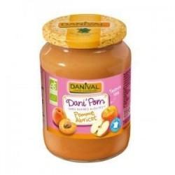 DANI'POM POMME ABRICOT 700G | DANIVAL - PUREES DE FRUITS
