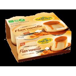 FLAN VANILLE NAPPE CARAMEL 4X1