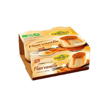 FLAN VANILLE CARAMEL 4X100G