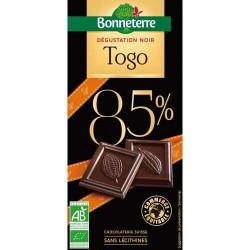 TABLETTE CHOCOLAT NOIR TOGO 85% 80G