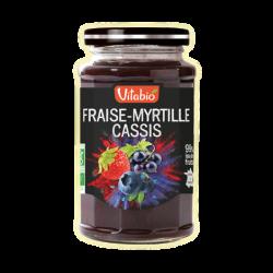 FRAISE MYRTILLE CASSIS 290G