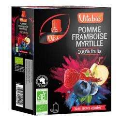 POMME FRAMBOISE MYRTILLE 4X120G