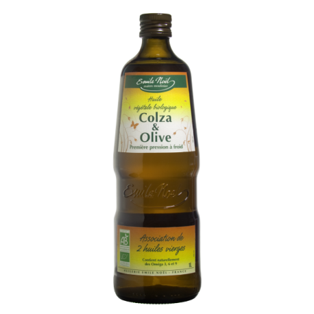 HUILE VIERGE COLZA/OLIVE 1L