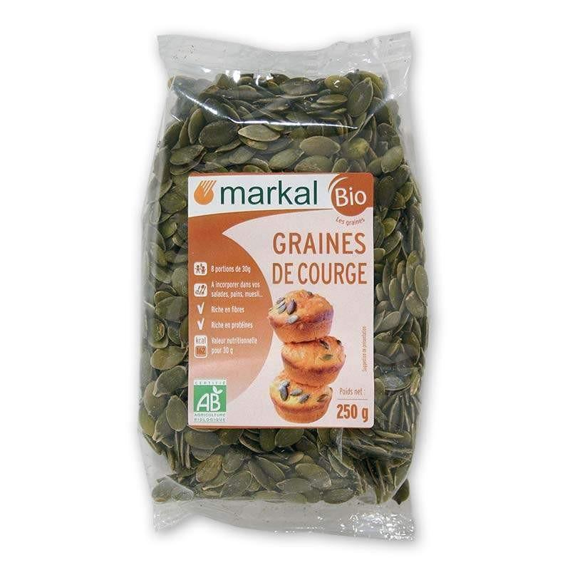 GRAINE COURGE DECORTIQUE 250G CC