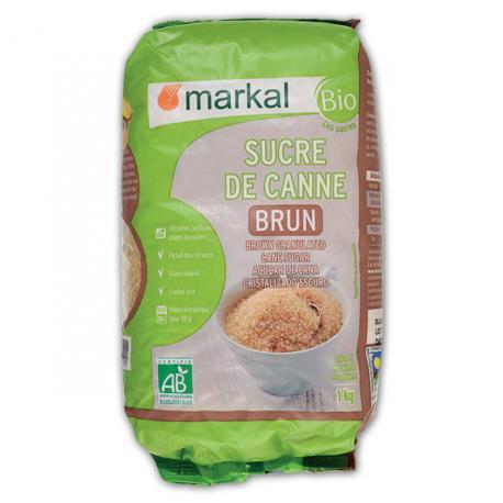 SUCRE BRUN DE CANNE 1KG