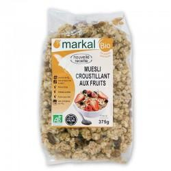 MUESLI CROUSTILLANT AUX FRUITS 375G