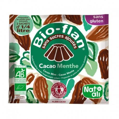 BIOFLAN MENTHE CHOCOLAT SANS SUCRE