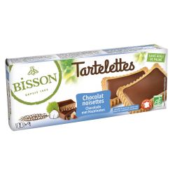 TARTELETTES CHOCOLAT NOISETTES 145G