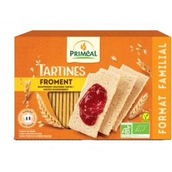 TARTINES CRAQUANTES FROMENT 250G