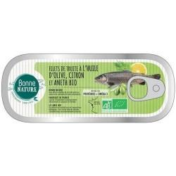 FILET DE TRUITE CITRON ANETH 115G