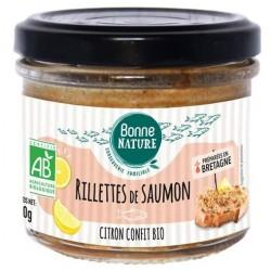 RILLETTES SAUMON CITRON 90G