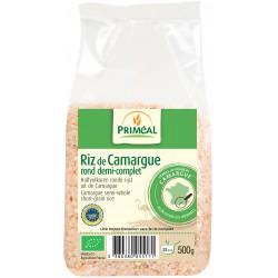 RIZ ROND CAMARGUE 1/2 COMPLET 500G