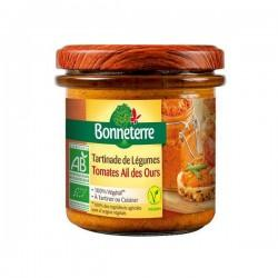 TARTINADE LEGUMES TOMATE AIL DES OURS 13