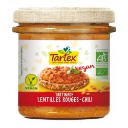 TARTINADE LENTILLES ROUGES CHILI 140G