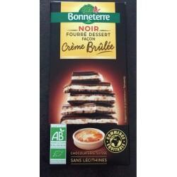 CHOCOLAT NOIR FOURRE CREME BRULEE 100G