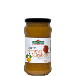 PUREE POMME MIRABELLE 360G