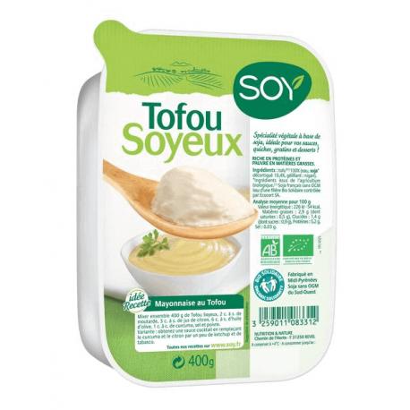 TOFU SOYEUX NATURE 400G CC