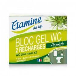 RECHARGES BLOC GEL WC X 2 100 ml