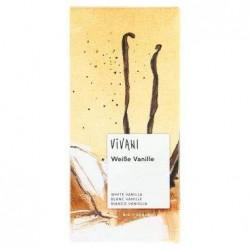 CHOCOLAT BLANC A LA VANILLE 80G