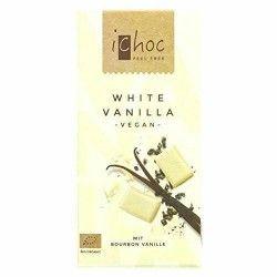 CHOCOLAT BLANC VANILLE VEGAN 80G