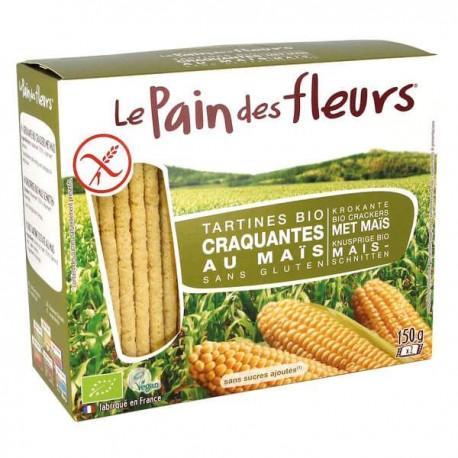 PAIN DES FLEURS MAIS RIZ 150G
