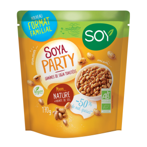 SOYA PARTY NATURE FORMAT FAMILIAL 170G