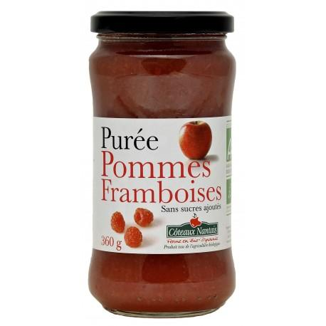 PURÉE DE POMMES FRAMBOISES 360G