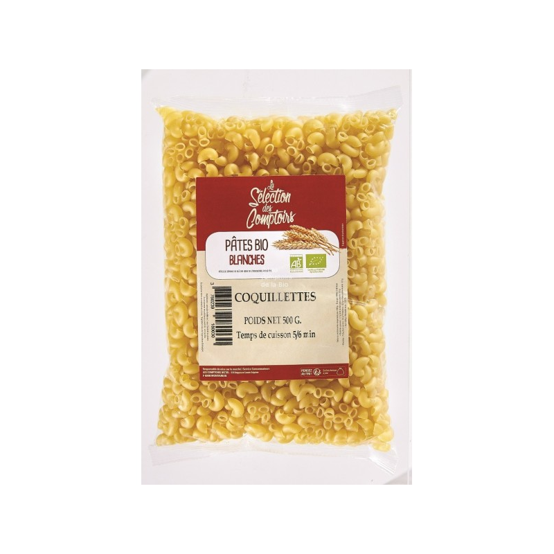 COQUILETTES BLANCHES 500G