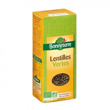LENTILLES VERTES 500G