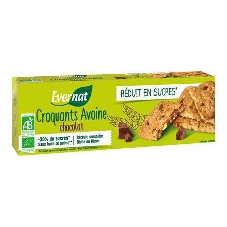 CROQUANTS AVOINE CHOCOLAT 130G