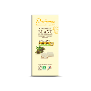 CHOCOLAT BLANC A L'AGAVE 100G