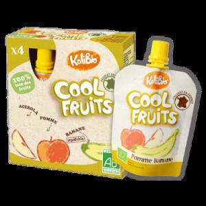 COOL FRUITS POMME/BANANE