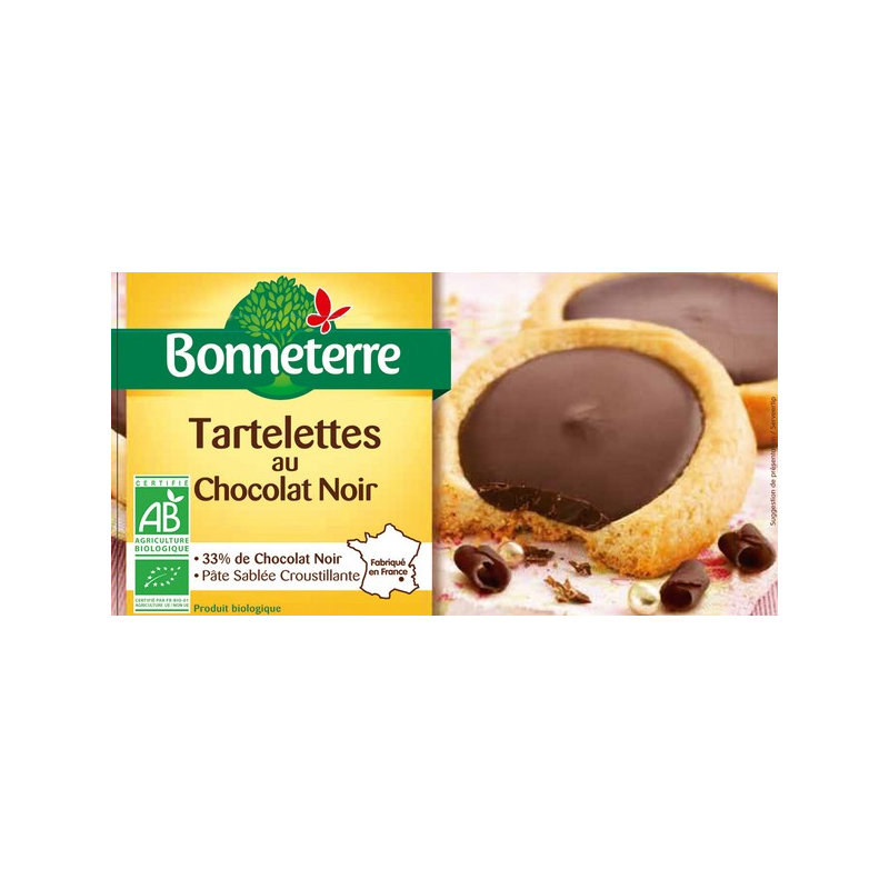 TARTELETTE CHOCOLAT NOIR 125G